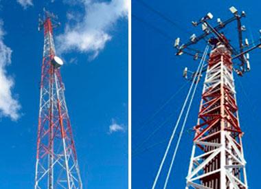 Aremetal fabrica torres para sistemas de telefonía celular.